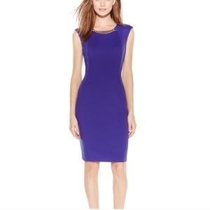 Calvin Klein dress with gold chain size 4